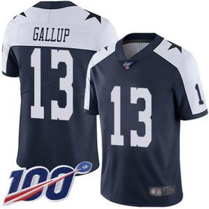 Cowboys Michael Gallup 100th Season Jersey